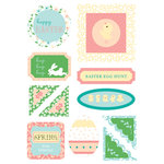 Making Memories - Flower Patch Collection - Dimensional Stickers - Easter