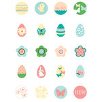 Making Memories - Flower Patch Collection - Looking Glass Stickers