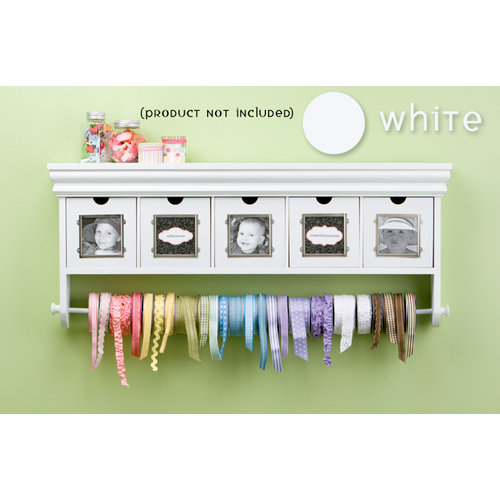 Making Memories - Storage Shelf with Drawers - White