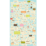 Making Memories - Great Escape Collection - Stickers - Word Fetti, CLEARANCE