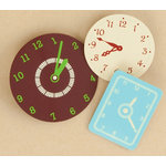 Making Memories - Vintage Findings Collection - Clock Faces , BRAND NEW