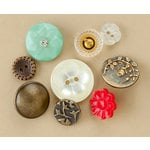 Making Memories - Vintage Findings Collection - Buttons - Copper, CLEARANCE