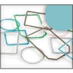 Making Memories - Slice Tagmaker Rims - Glitter Multipack - Blue