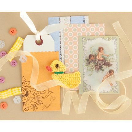 Making Memories - Vintage Findings Collection - Mini Kits - Baby