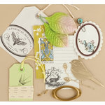 Making Memories - Vintage Findings Collection - Mini Kits - Nature