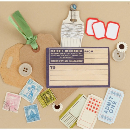 Making Memories - Vintage Findings Collection - Mini Kits - Travel