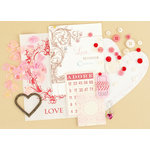 Making Memories - Vintage Findings Collection - Medium Kits - Love