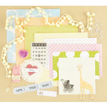 Making Memories - Vintage Findings Collection - Large Kits - Baby