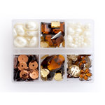 Making Memories - Gem Collection Box - Brown, CLEARANCE