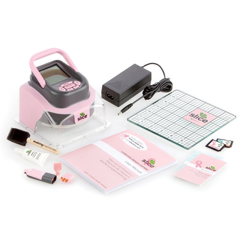 Making Memories - Slice Cordless Design Cutter Machine - Pink