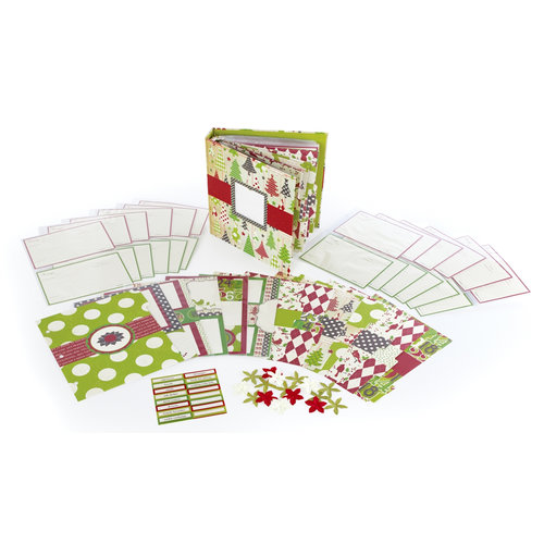 Making Memories - Mistletoe Collection - Christmas - Recipe Book Kit
