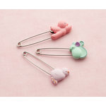 Making Memories - Pitter Patter Collection - Safety Pins - Sophie, CLEARANCE