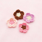Making Memories - Pitter Patter Collection - Crochet Flowers - Sophie, CLEARANCE
