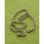 Making Memories - Vintage Groove Collection - Jewelry Hardware - Chain Extensions - Antique Silver