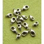 Making Memories - Vintage Groove Collection - Jewelry Hardware - Clasps - Silver