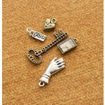 Making Memories - Vintage Groove Collection - Jewelry Designer Combinations - Brass Key