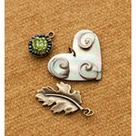 Making Memories - Vintage Groove Collection - Jewelry Designer Combinations - Swirled Heart