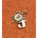Making Memories - Vintage Groove Collection - Jewelry Alphabet Charms - Letter J