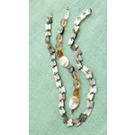 Making Memories - Vintage Groove Collection - Jewelry Strand Combinations - MOP Square