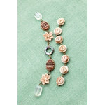 Making Memories - Vintage Groove Collection - Jewelry Strand Combinations - Abalone and Button