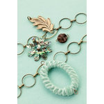 Making Memories - Vintage Groove Collection - Jewelry Kit - Abalone and Velvet