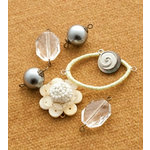 Making Memories - Vintage Groove Collection - Jewelry Designer Combinations - Shell and Silver