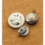 Making Memories - Vintage Groove Collection - Jewelry Designer Combinations - Rose Cabochon