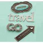 Making Memories - Eclectic Metal Signs - Travel, CLEARANCE
