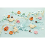 Making Memories - Pitter Patter Collection - Trims and Treats Embellishment Pack - Oliver, CLEARANCE
