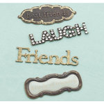 Making Memories - Eclectic Metal Signs - Friends, CLEARANCE