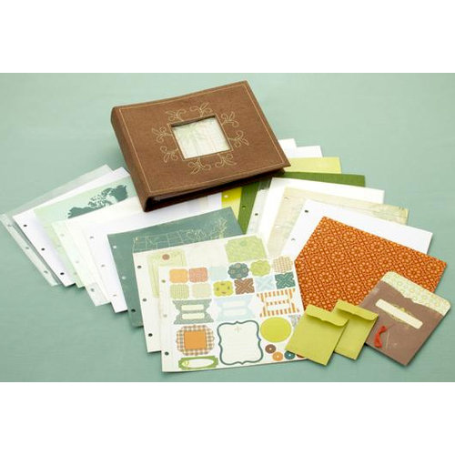 Making Memories - Panorama Collection - 8 x 8 Album Kit - Travel