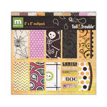 Making Memories - Toil and Trouble Collection - Halloween - 8 x 8 Specialty Paper Pack, CLEARANCE