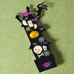 Making Memories - Toil and Trouble Collection - Halloween - Pin - Lighted House