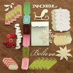 Making Memories - Noel Collection - Christmas - Findings Kit