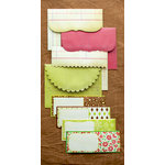 Making Memories - Noel Collection - Christmas - Ledger Envelopes