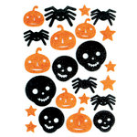 Making Memories - Toil and Trouble Collection - Halloween - Glitter Foam Stickers - Shapes