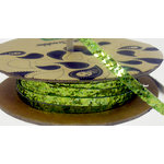 Making Memories - Toil and Trouble Collection - Halloween - Glitter Green Spool - 25 Yards
