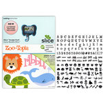 Making Memories - Slice Design Card - Zoo-Topia