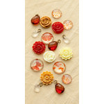 Making Memories - Paper Reverie Collection - Baubles - Sienne