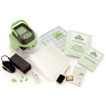 Making Memories - Fabrique Collection - Slice Cordless Digital Fabric Cutter - Green