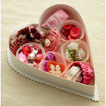 Making Memories - Je t'Adore Collection - Valentine - Embellishment Box - Tres Jolie
