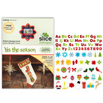 Making Memories - Fabrique Collection - Slice Design Card - 'Tis the Season