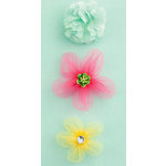 Making Memories - Dilly Dally Collection - Fabric Flowers