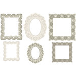 Making Memories - Tie the Knot Collection - Embossed Frames