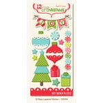 My Mind's Eye - 12 Days of Christmas Collection - 3 Dimensional Stickers