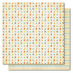 My Mind's Eye - Alphabet Soup Collection - 12 x 12 Double Sided Paper - Animal Kingdom Boy, CLEARANCE
