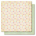 My Mind's Eye - Alphabet Soup Collection - 12 x 12 Double Sided Paper - Baby Blocks Girl, CLEARANCE