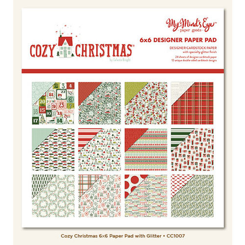 My Mind's Eye - Cozy Christmas Collection - 6 x 6 Paper Pad