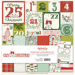 My Mind's Eye - Cozy Christmas Collection - 12 x 12 Paper and Accessories Kit