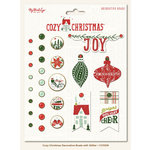 My Mind's Eye - Cozy Christmas Collection - Decorative Brads